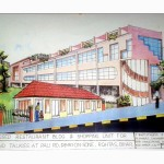 Restaurant & shopping building at Rohtus , Bihar